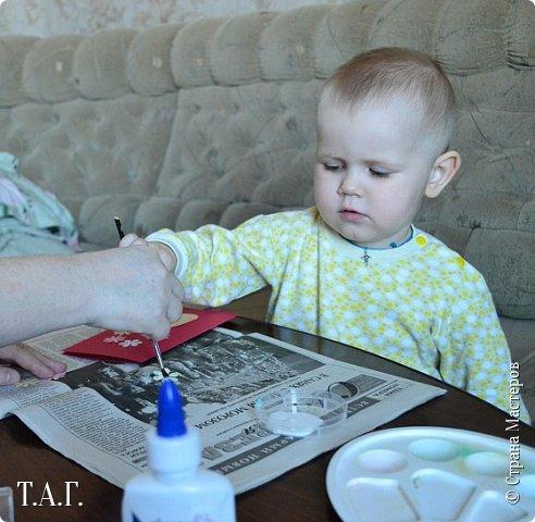 8 марта женская половина семьи получила подарки от Виталика. фото 9