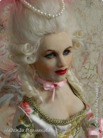 Кукла размером 60 см, запекаемый пластик -ливингдолл, волосы мех ангорской козы (техника вживления). Любуйтесь если нравится. фото 1