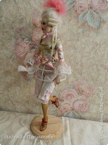 Кукла размером 60 см, запекаемый пластик -ливингдолл, волосы мех ангорской козы (техника вживления). Любуйтесь если нравится. фото 2