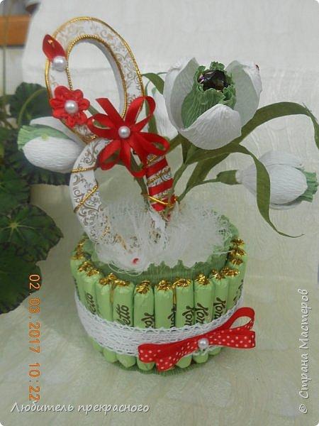 Доброго времени суток!!!Вот такие композиции  для подарков были составлены из различных первоцветов... фото 2
