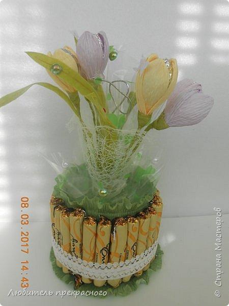 Доброго времени суток!!!Вот такие композиции  для подарков были составлены из различных первоцветов... фото 11