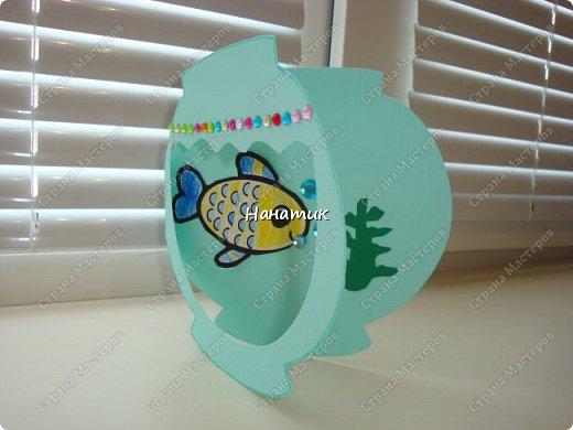 Такую открытку Алина сделала на день рождения, так как хозяйка данной открытки по гороскопу рыба).  Открытка сделана из бумаги для пастели. фото 3