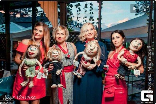 текстильные куклы-шарж фото 10