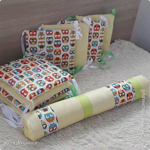 Зефирное одеялко бомбон в детскую кроватку выполнено из 100% хлопка, наполнитель холлофайбер. фото 3