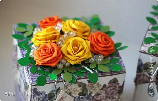 С наступившим весенним праздником 8 МАРТА, дорогие дамы!!! Пусть весна цветет не только на улице, но и в душе, а красота радует всех окружающих. Счастья вам, милые дамы, благополучия и гармонии! Желаю, чтобы все ваши дни были солнечными, яркими и запоминающимися, чтобы в наших домах всегда было уютно и тепло, и всегда было мирное небо над головой! Сегодня спешу показать свои коробочки, в которых мы делали презенты нашим учителям к 8 Марта. Родительский комитет нашего класса оценил мою идею и полностью доверил мне упаковать презенты для учителей. Всего 16 коробочек. фото 8
