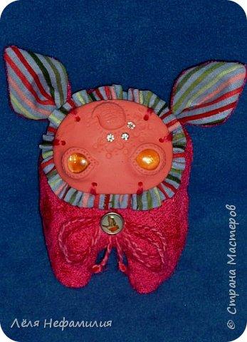 Как и обещала показываю свое новое увлечение. Это монстрики, выполнены по мотивам работ американской художницы и мастерицы Аманды Луизы Спейд и ее пыльных зайцев ( Dusty bunny). Очень люблю ее игрушки и мультики с их участием. Я конечно только учусь работать с полимерной глиной, глаза пока делать сама не решаюсь, использую разноцветные стекляшки. Но все ещё впереди. фото 6