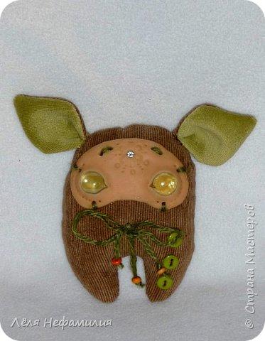 Как и обещала показываю свое новое увлечение. Это монстрики, выполнены по мотивам работ американской художницы и мастерицы Аманды Луизы Спейд и ее пыльных зайцев ( Dusty bunny). Очень люблю ее игрушки и мультики с их участием. Я конечно только учусь работать с полимерной глиной, глаза пока делать сама не решаюсь, использую разноцветные стекляшки. Но все ещё впереди. фото 5