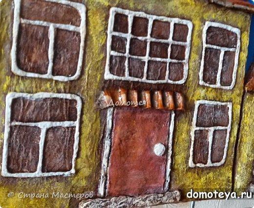Домики из папье-маше фото 2
