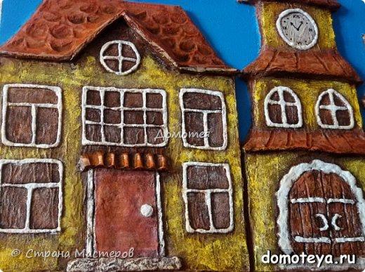 Домики из папье-маше фото 3