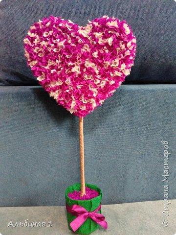 На день святого Валентина решила сделать что-то новенькое. фото 1