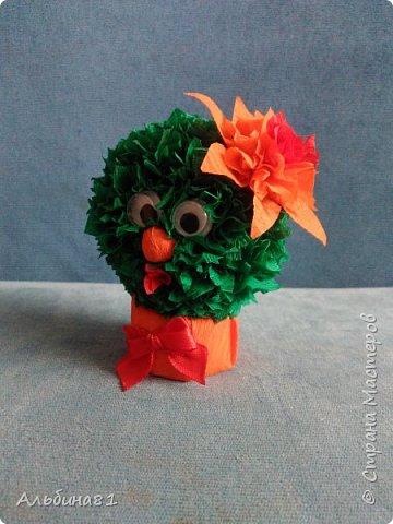 Очень понравились кактусы у Татьяны Просняковой. И тоже захотелось сделать таких же. И вот они. фото 2
