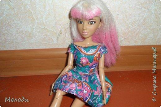"""Всем привет! Сегодня я представляю работу на конкурс """"Хобби и увлечение куклы"""" .Её представляет Элла. Э-сегодня я расскажу о моём увлечении.Я швея,очень люблю шить и вышивать узоры на одежде. фото 2"""