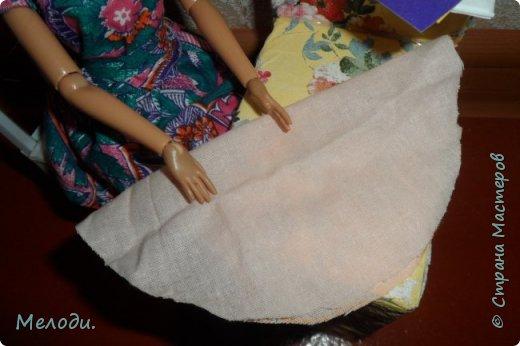 """Всем привет! Сегодня я представляю работу на конкурс """"Хобби и увлечение куклы"""" .Её представляет Элла. Э-сегодня я расскажу о моём увлечении.Я швея,очень люблю шить и вышивать узоры на одежде. фото 10"""