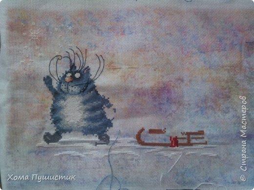 Котики по мотивам рисунков И.Зенюк, вышивка крестиком, МП Студия.  фото 2