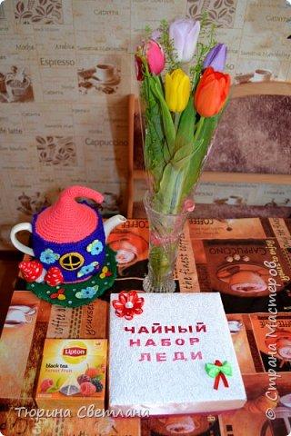 Вот и прошел долгожданный весенний праздник!!! Надеюсь он принес всем много позитива, подарков и отдыха!  Представляю какой был загруз перед 8 марта! А вот подарочки, которые успела смастерить я!  Сладкая шляпка, заполненная внутри конфетками. И кофейный котик!   фото 7
