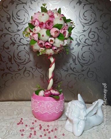 Деревце выполнено на заказ к 8 марта)))