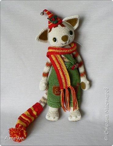 Котенок Финдус (Рождество) фото 1