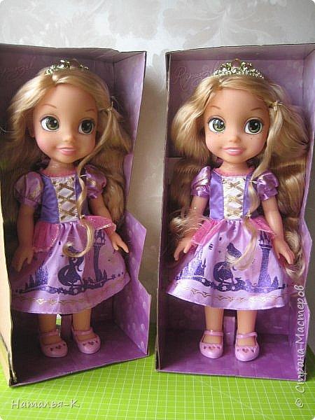 Куклы - Rapunzel 35 см. Подарила внучкам на Рождество. фото 1