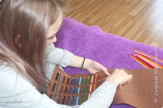 Добрый день. Вот такой, как мы думаем, практичный органайзер для карандашей сделала Кристина, процесс изготовления быстрый, нам понравился результат фото 2