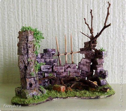 Руины  диорама фото 1