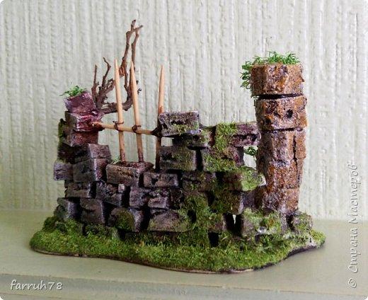 Руины  диорама фото 3