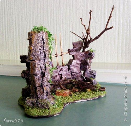 Руины  диорама фото 2