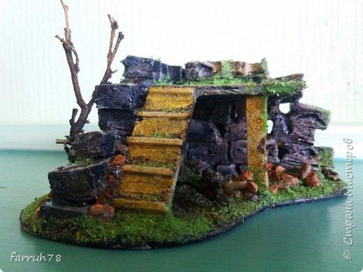 Разрушенная крепость диорама фото 6