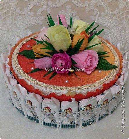 Мои тортики для сотрудниц фото 1
