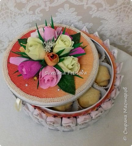 Мои тортики для сотрудниц фото 2