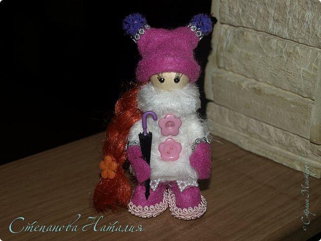 Добрый день, уважаемые друзья! Не отпускают меня мои куколки, а рыжей у меня вообще не было ни одной! Приглашаю к просмотру. фото 1