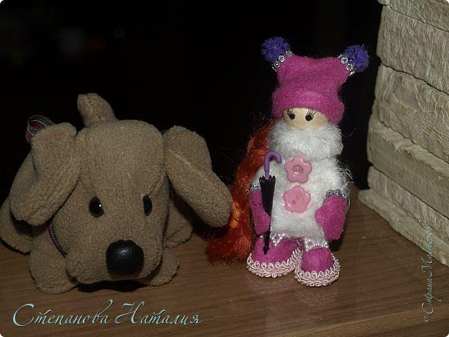Добрый день, уважаемые друзья! Не отпускают меня мои куколки, а рыжей у меня вообще не было ни одной! Приглашаю к просмотру. фото 4