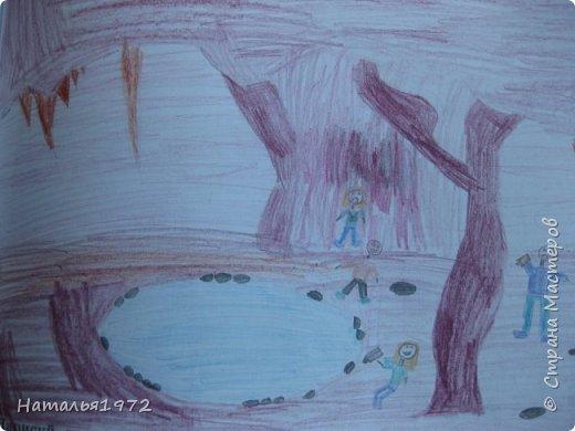 Рисуем пещеры фото 5