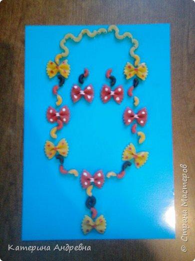 Подарок для принцессы из макарон))))