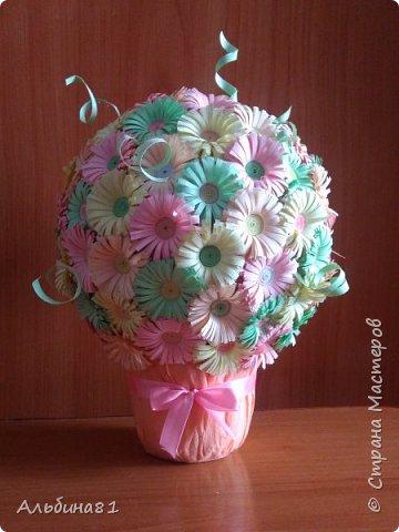 Этот цветочный шар я подарила своей маме.