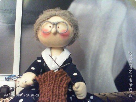 Здравствуйте! вот такая у меня бабуля рукодельница получилась! фото 2
