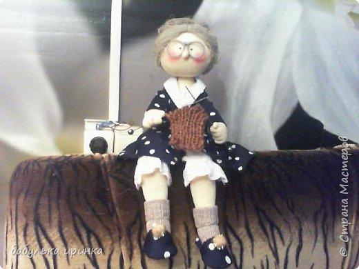 Здравствуйте! вот такая у меня бабуля рукодельница получилась! фото 3
