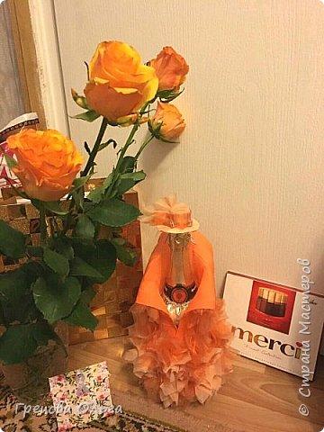 Тюльпаны с шоколадными конфетами, рафаэлки фото 5