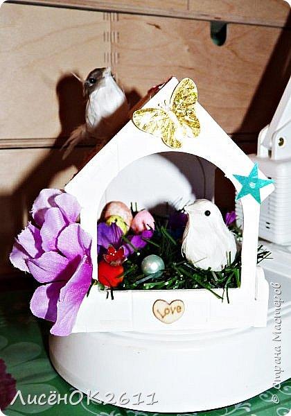 Домик для птичек фото 1