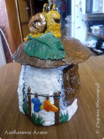 Баночка домик фото 1