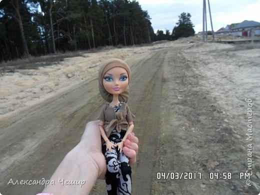 Привет всем!  Сейчас я покажу как мы с Дарлин ходили на улицу! фото 26
