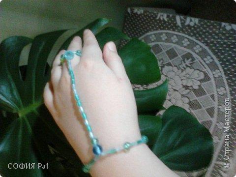 На 8 марта получила подарочек- красивый слейв. Вдохновленная именно им я решила сделать МК  легкого летнего слейва фото 1