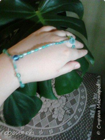 На 8 марта получила подарочек- красивый слейв. Вдохновленная именно им я решила сделать МК  легкого летнего слейва фото 9