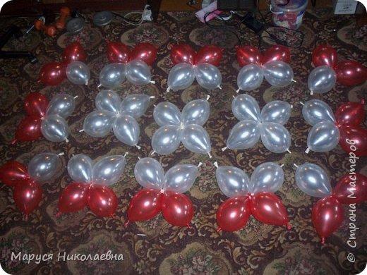 Открытками это назвать сложно, скорее - панно из воздушных шариков, которым можно эффектно поздравить с днём рождения. Это панно-открытка говорит само за себя: заказали на 35-ти летие молодой женщине. фото 6