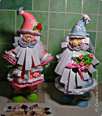 Доброго времени суток! Хочу представить игрушечку в технике квиллинг. Это Дед Мороз и его высота 17 см. Увидела мк этой фигурки у одной блогерши и не удержалась, чтоб не сделать и себе такого. А вот и ссылочка на мк http://quilling-life.com/kvilling-santa-klaus/ фото 6