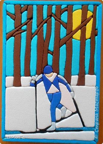 """Картинка сделана для участия в конкурсе """"Пожарная ярмарка"""", одна из номинаций которой посвящена пропаганде спорта и здорового образа жизни. фото 2"""