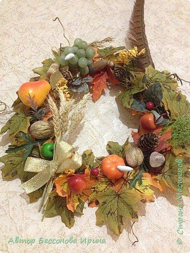 Осенний венок плодородия фото 2