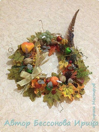 Осенний венок плодородия фото 1
