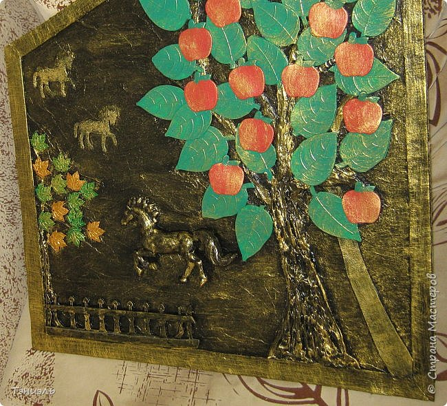 Здравствуйте, уважаемые мастера! Очередная картинка для дачной веранды, форма по месту. Сюжетик простенький, материал ненужности. фото 4