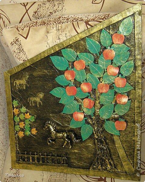 Здравствуйте, уважаемые мастера! Очередная картинка для дачной веранды, форма по месту. Сюжетик простенький, материал ненужности. фото 1