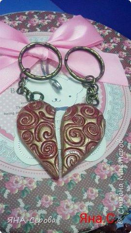 Полимерные сердечки фото 3